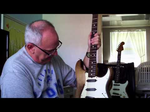 Jimmy Thackery tells BRI about his '64 Stratocaster