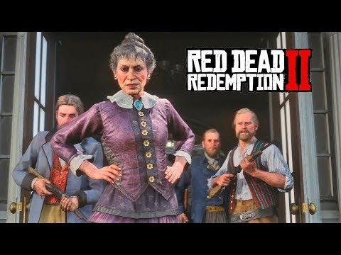 Red Dead Redemption 2 Stories: Mrs  Catherine Braithwaite (All Cutscenes)