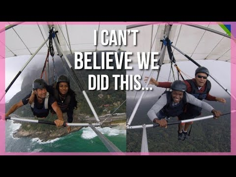 HANG GLIDING AND SAMBA CLASSES IN BRAZIL | TRAVEL VLOG