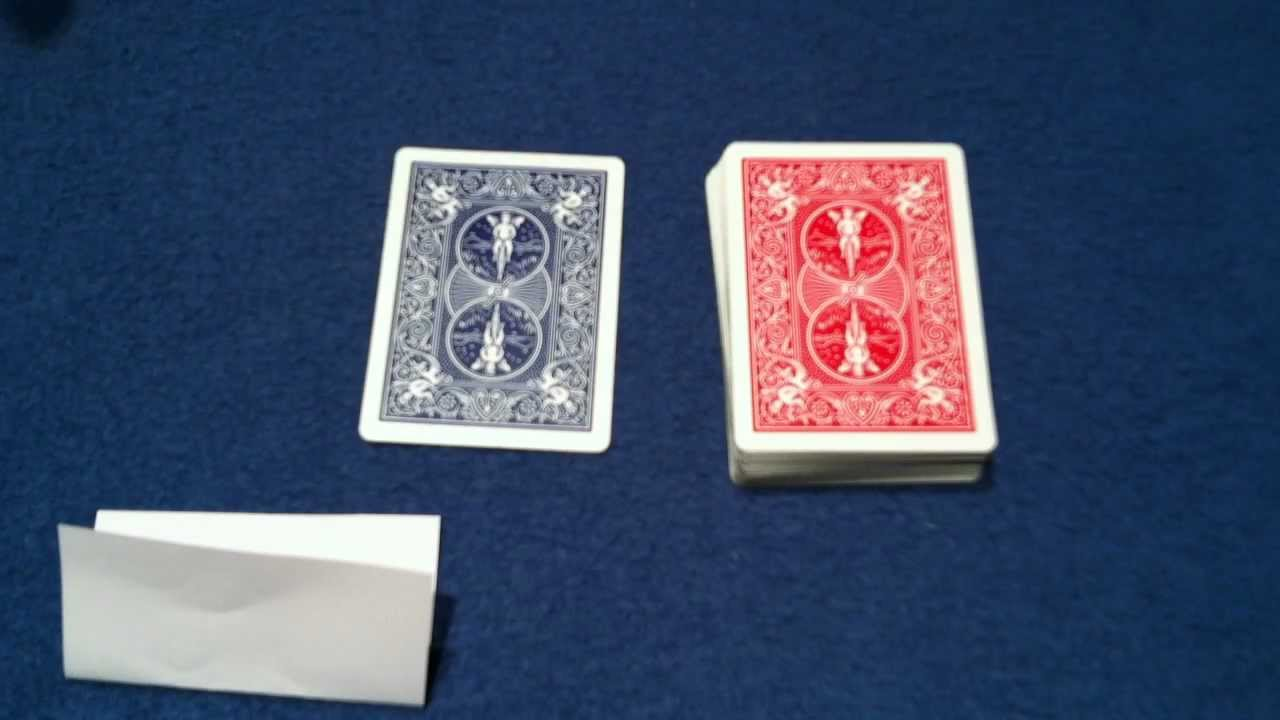 Lucky Guess Card Trick - (Original Card Tricks)
