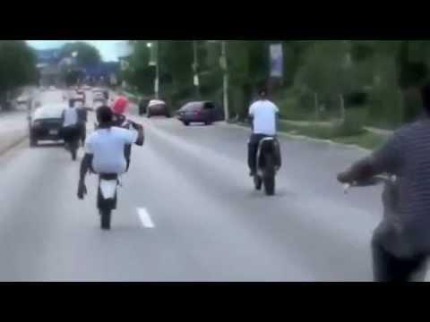 impennate impossibili con moto cross ! - youtube
