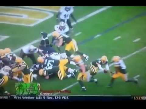 Green Bay Packers Rookie Graham Harrell Fumbles 1st NFL Possession & Piss Off Mike McCarthy