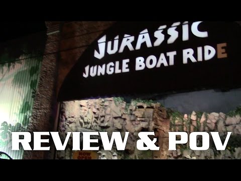 Jurassic Jungle Boat Ride POV and Review Pigeon Forge, TN