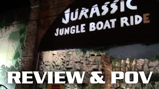 jurassic jungle boat ride pov and review pigeon forge tn