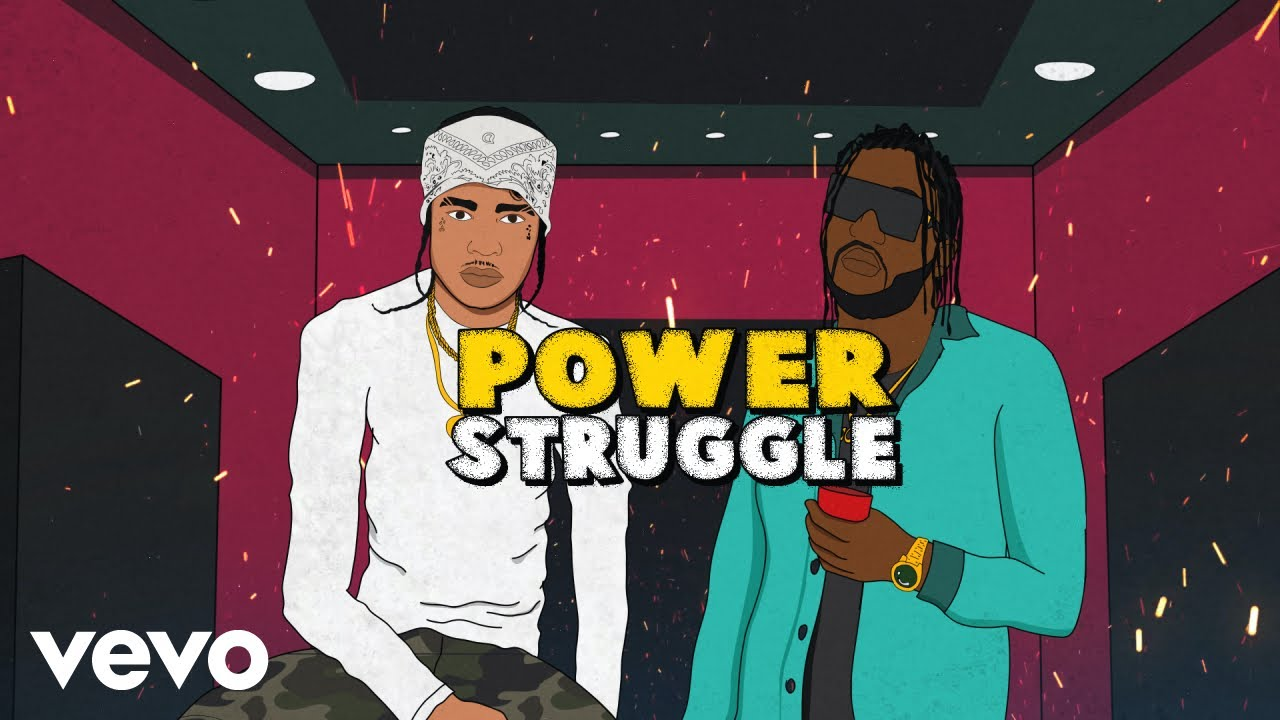 TeeJay, Tommy Lee Sparta - Power Struggle (Official Lyric Video) - download from YouTube for free