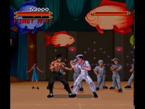 SNES Longplay [398] Dragon - The Bruce Lee Story