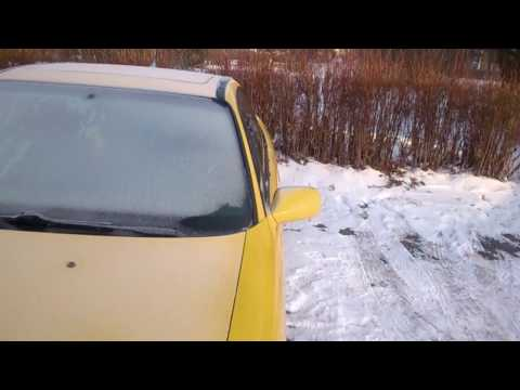 Sroga Zima Śląsk Opdalanie Auta Opel Calibra