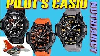 Casio Gravitymaster: The Pilot's Watch?