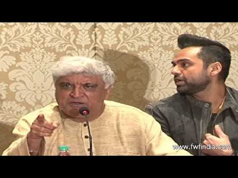 Writer Jawed Akhtar Press Confrence The Right And The Royalty Issues
