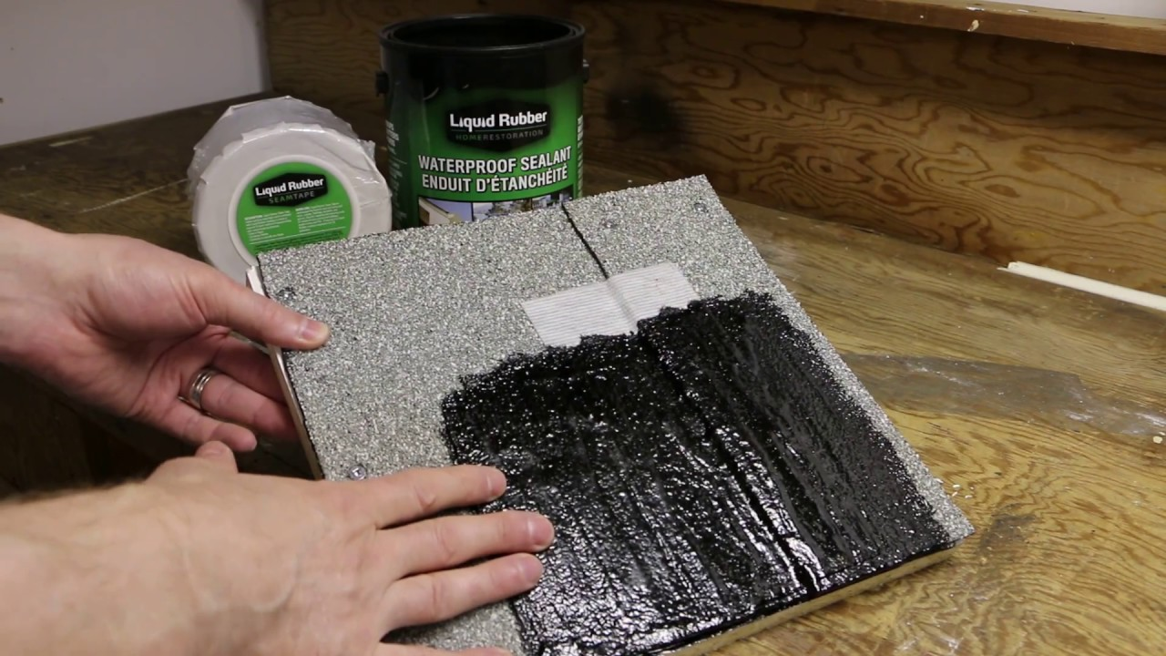 Mod-Bit/Torch Down Roof Repair with Liquid Rubber