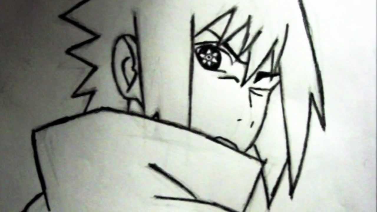 HOW TO DRAW SASUKE'S UCHIHA MANGEKYOU SHARINGAN - YouTube |Itachi Mangekyou Sharingan Drawing