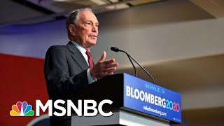 Bloomberg To Fund Campaign To Defeat Trump Even If He's Not The Nominee | Velshi & Ruhle | MSNBC