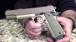 Sig 1911 Desert 45ACP Pistol Overview  Texas Gun Blog