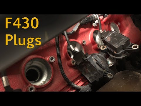 Ferrari F430 spark plug change