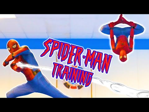 SPIDER-MAN TRAINING In Real Life | Extreme Kicks & Flips (Tricking)