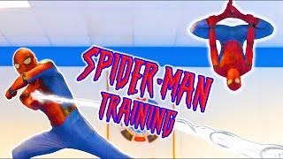 SPIDERMAN TRAINING In Real Life | Kicks & Flips (Tricking)