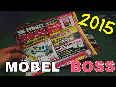 silvester feuerwerk prospekt 2015 2016 m bel boss top flop hd youtube. Black Bedroom Furniture Sets. Home Design Ideas