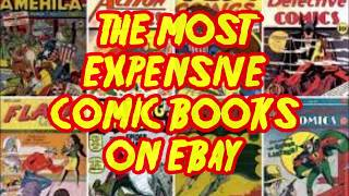 The Most Expensive Comic Books On EBay