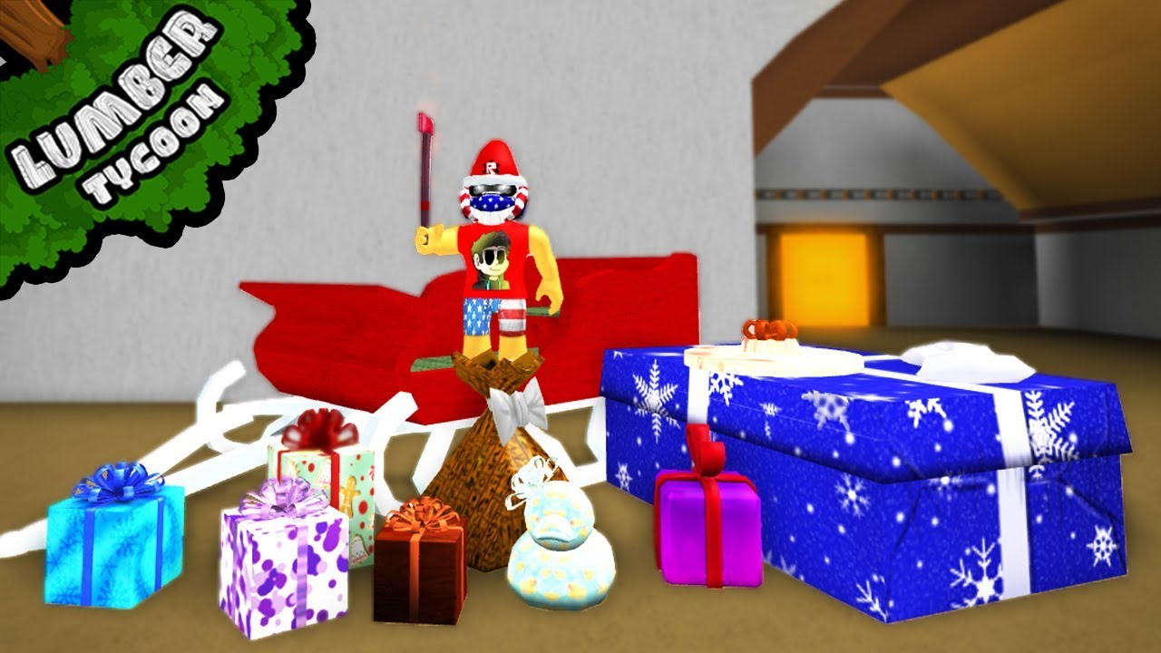 Opening All Gifts In Lumber Tycoon 2 Roblox Gameplay Youtube Brand New Christmas Gifts In Lumber Tycoon 2 Roblox Youtube