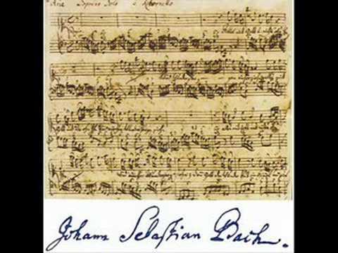 JSBach - Suite No.1 C-Dur(major) - Ouverture - BWV 1066