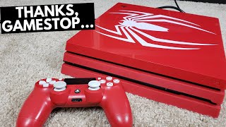 I Bought a USED Spiderman PS4 Pro from GAMESTOP!! (limited edition)