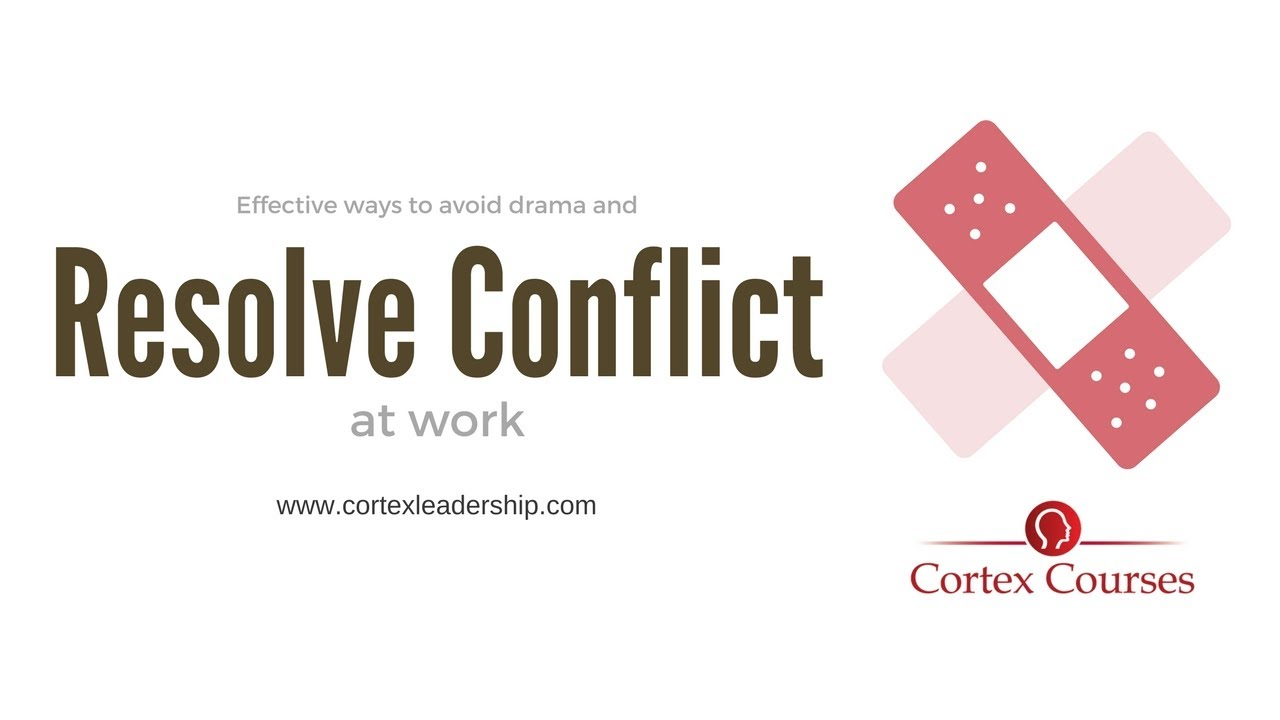 How to Resolve a Conflict at Work forecasting