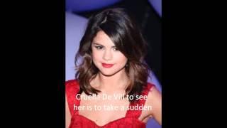 Selena Gomez Cruella De Vill karaoke