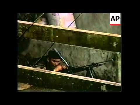 COLOMBIA: FARC REBELS CLASH WITH GOVERNMENT TROOPS