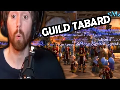 Asmongold & Esfand Make Their Classic WoW Beta Guild Tabard