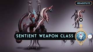 Warframe: Upcoming Sentient Weapon Class