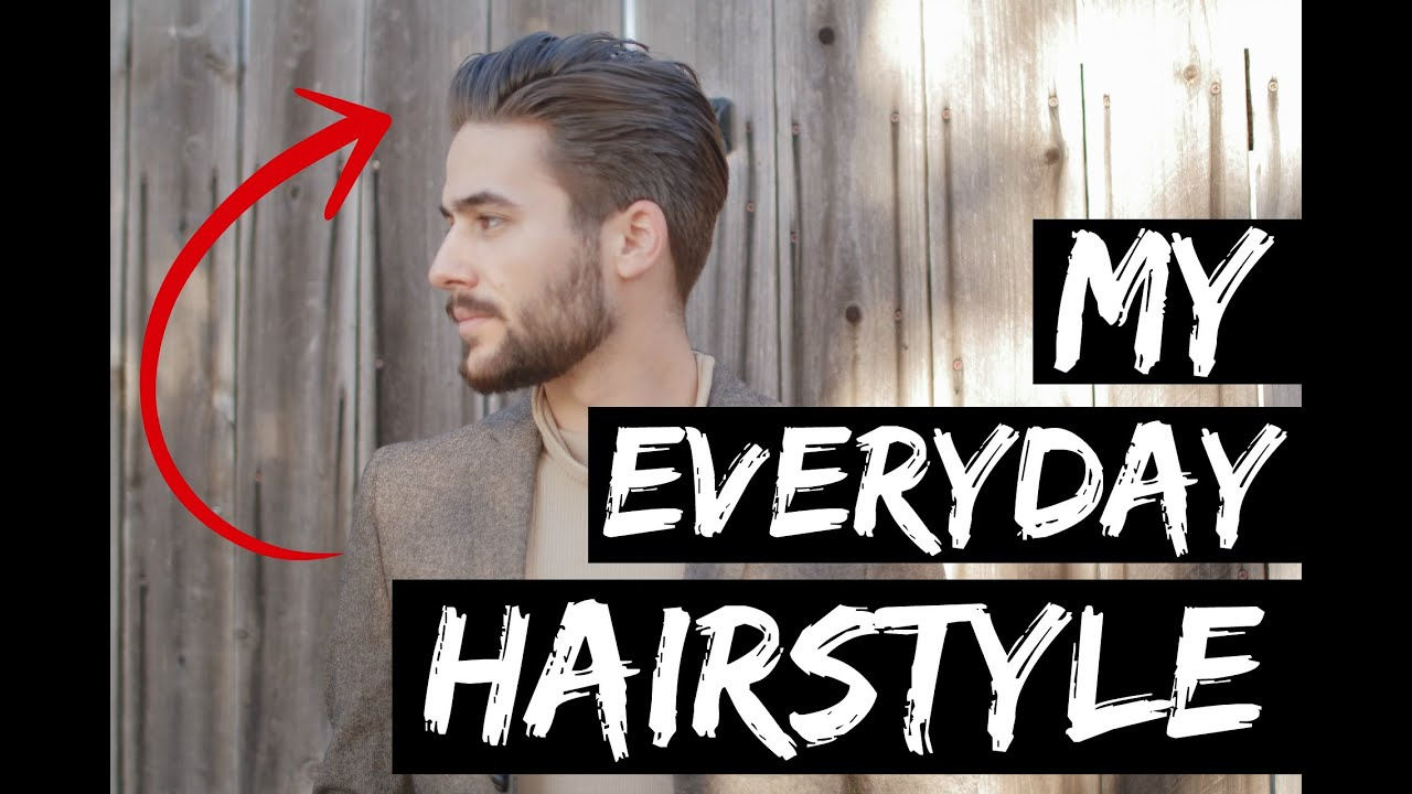 Mens Hairstyle 2015 | Classic Comb Over Hairstyle | Best Mens Hairstyle    YouTube