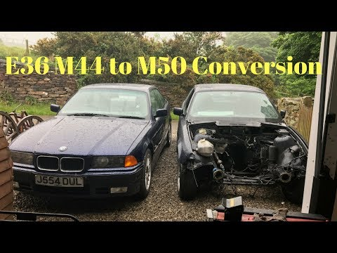 E36 4 Cylinder (M44) to 6 Cylinder (M50) Engine Swap DIY