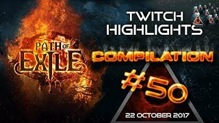 Path of Exile highlights video compilation #50 Lifting Shaper rip, ...