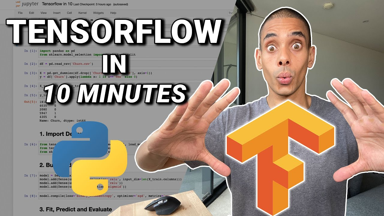 Download Tensorflow Tutorial for Python in 10 Minutes