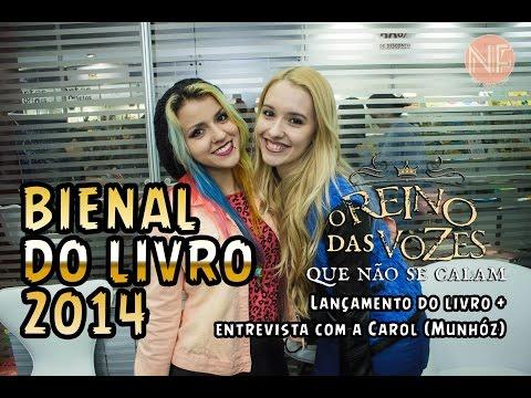 """[vlog]-entrevista-com-carolina-munhóz-na-bienal-do-livro-2014-+-""""o-reino-das-vozes-que-não-se-calam"""""""