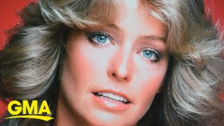 How losing her hair during chemo affected Farrah Fawcett