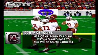 NCAA GameBreaker 2001 (PSX) South Carolina vs Alabama