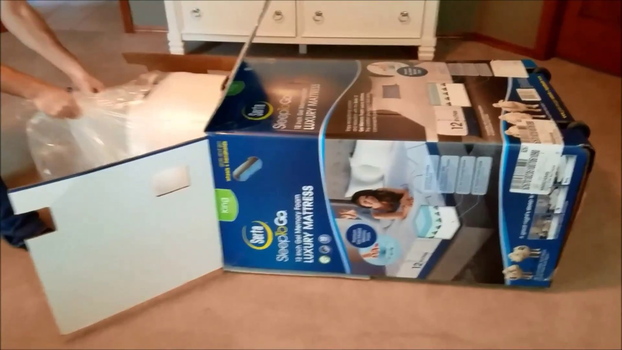 Serta Memory Foam Mattress In A Box