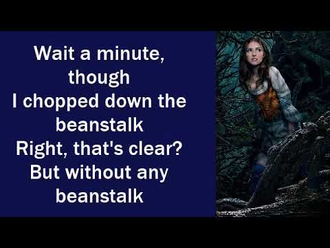 Into The Woods 2014 - Your Fault (Lyrics)