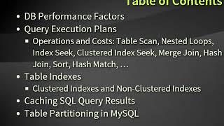 SQL Server Database Performance (Bulgarian) (2015)