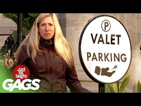 Victims Become Parking Valets