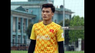 Bùi Tiến Dũng trở lại U23 Việt Nam sau khi bình phục chấn thương cổ tay