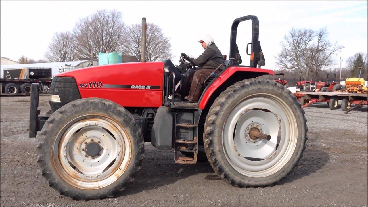 Case Tractor Mx110 : Orbitbid michigan karnemaat farms case ih