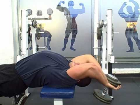 Dumbbell Pullovers A Forgotten Chest Exercise - YouTube