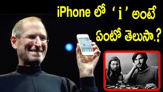 Do You Know Why ' i ' in your iPhone stands for?