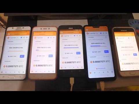 Tutorial Mining Bitcoin Dengan HP Android
