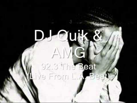 DJ Quik & AMG - Power 106 Radio Drop SUPER RARE
