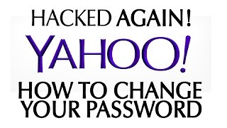 How To Change Your YAHOO e-mail Password