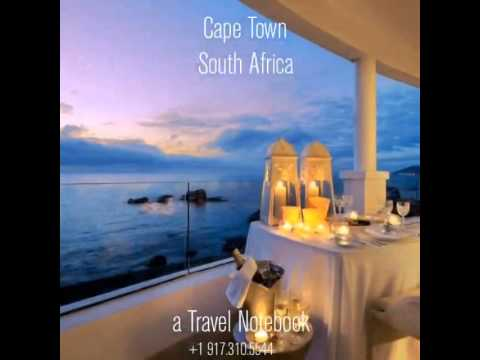 A Travel Notebook presents Cape Town, South Africa