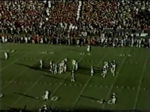 1982 #1 Georgia Bulldogs at Auburn Tigers football